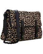 Alice + Olivia Scarlet Messenger Leopard Print Bag - Lyst