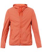 C P Company Printed Hooded Goggle Jacket - Lyst