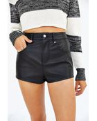 BDG Leather Short - Lyst