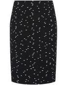 Oscar de la Renta Tweed Bouclã© Pencil Skirt - Lyst