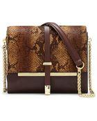 Vince Camuto Leila Leather Shoulder Bag - Lyst
