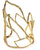 Alexis Bittar Elements Crystal Embellished Rocky Cuff - Lyst