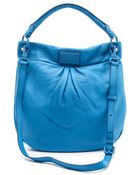 Marc By Marc Jacobs Electro Q Hillier Hobo Bag - Cylinder Grey - Lyst