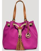 MICHAEL Michael Kors Tote - Marina Large Gathered - Lyst