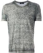 Avant Toi Crew-Neck T-Shirt - Lyst