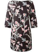 Marni Floral Print Shift Dress - Lyst