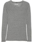 Etoile Isabel Marant Aaron Striped Cotton And Linen-Blend Jersey Top - Lyst