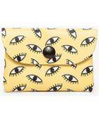 Falconwright Eyeball Print Cardholder - Lyst