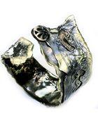 Sibilla G Jewelry Sibilla G Aemilia Metamorphose Cuff In Oxidized Brass - Lyst