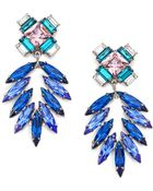 Dannijo Simon Crystal Chandelier Earrings - Lyst