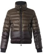 Moncler Grenoble Harbiers Bi-Colour Quilted Down Jacket - Lyst