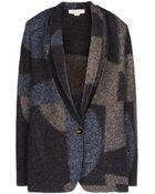 Stella McCartney Raw Cut Blanket Jacket - Lyst