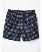 Gap Square Dot Boxers - Lyst