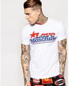Love Moschino T-Shirt Retro Star Logo - Lyst