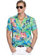 Polo Ralph Lauren Floral Camp Shirt - Lyst