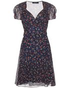 Polo Ralph Lauren Printed Dress - Lyst