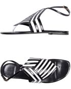Pierre Hardy Thong Sandal - Lyst