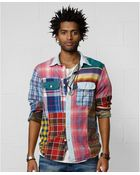 Denim & Supply Ralph Lauren Patchwork Shirt - Lyst