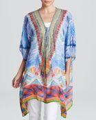 Camilla Embellished Silk Caftan - Lyst