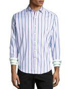 Robert Graham Amaretto Striped Woven Sport Shirt - Lyst