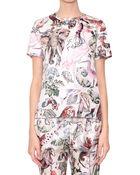 Valentino Fantastic Animals Silk T-Shirt - Lyst