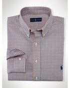 Ralph Lauren Tattersall Poplin Shirt - Lyst