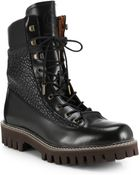 McQ by Alexander McQueen Fraser Lace-up Ankle Boots - Lyst