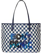 Marc By Marc Jacobs Checked Tote 48 - Lyst