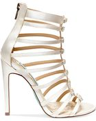 Betsey Johnson Blue By Tie High Heel Evening Sandals - Lyst