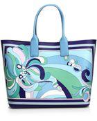 Emilio Pucci Beach Bag - Lyst
