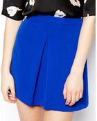 Asos Aline Skirt in Vintage Crepe - Lyst