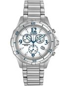Citizen Womens Chronograph Ecodrive Stainless Steel Bracelet 40mm 58a A Macys Exclusive - Lyst