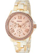 Fossil Cecile - Am4558 - Lyst
