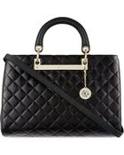DKNY Quilted Leather Tote - For Women - Lyst