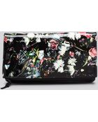 McQ by Alexander McQueen Clutch - Printed Floral Foldover - Lyst
