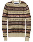 Tommy Hilfiger Fairisle Sweater - Lyst