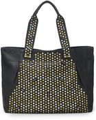 Botkier Starburst Studded Leather Tote Bag - Lyst