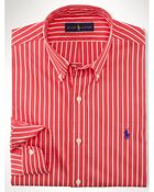 Polo Ralph Lauren Slim-Fit Striped Poplin Shirt - Lyst