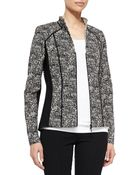 Lafayette 148 New York Amia Tweed Jacket - Lyst