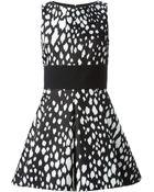 Fausto Puglisi Leopard Print Flared Dress - Lyst