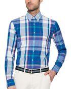 Gant Rugger India Madras Shirt - Lyst