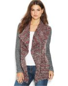 Lucky Brand Jeans Lucky Brand Long-Sleeve Brushed-Knit Cardigan - Lyst