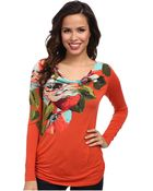 Tommy Bahama Madalena Rose Top - Lyst