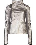 Rick Owens Long Sleeve Jacket - Lyst