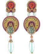 Dori Csengeri Harper Earrings - Lyst