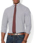 Ralph Lauren Polo Checked Estate Shirt – Slim Fit - Lyst