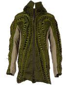 Christopher Raeburn Military Hooded Long Jacket - Lyst