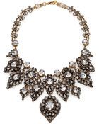 Erickson Beamon Hello Sweetie Crystal Bib Necklace - Lyst