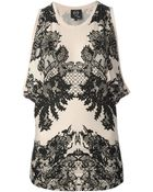 McQ by Alexander McQueen Floral Lace Print Blouse - Lyst