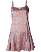 Thakoon Addition Short Print Dress - Lyst